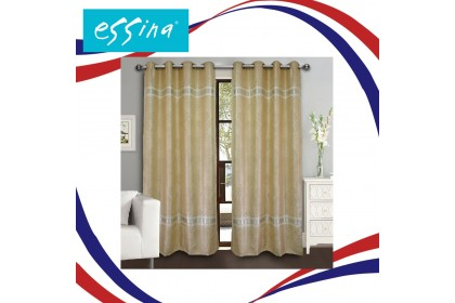 1 PIECE : Essina Langsir Eyelet Curtain Blackout 140cm x 260cm - ASIATIC ( Curtain Sale )