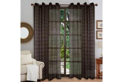 1 Panel - Essina Eyelet Sheer Curtain 140cm x 240cm - REESE