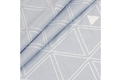 Essina Ozara Grey 100% Cotton 620TC Fitted Bed sheet set with Comforter