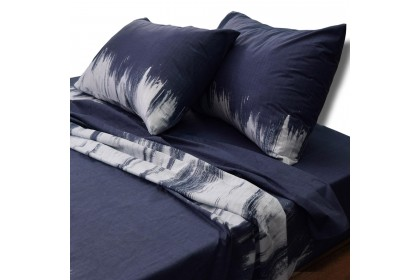 Essina Wheatgrass 100% Cotton 620TC Fitted Bedsheet set Cadar Queen / King / Super Single ( Rosetta Collection )