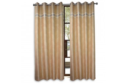 1 PIECE : Essina Eyelet Curtain Premium Blackout 200cm x 260cm - CORTINA (fit window/sliding door 1 panel - up to 180cm width)
