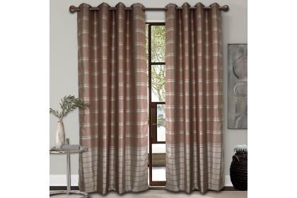 1 PIECE : Essina Eyelet Curtain Premium Blackout 200cm x 260cm - ISADORA (fit window/sliding door 1 panel - up to 180cm width)