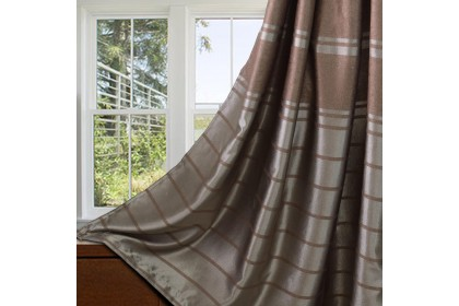 1 PIECE : Essina Eyelet Curtain Premium Blackout 100cm x 260cm - ISADORA (fit window/sliding door 1 panel - up to 90cm width)