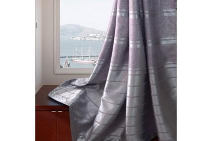 Essina Ariana Premium Blackout French Pleated Curtain 2 Panel Window