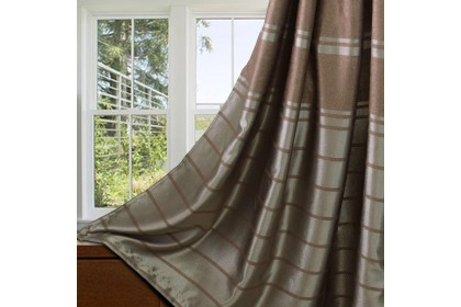 Essina Isadora Premium Blackout French Pleated Curtain 2 Panel Window