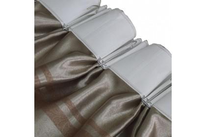 Essina Isadora Premium Blackout French Pleated Curtain 2 Panel Window