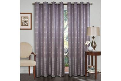 1 PIECE : Essina Eyelet Curtain Premium Blackout 100cm x 260cm - ARIANA (fit window/sliding door 1 panel - up to 90cm width)