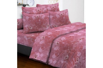 Essina BLOOMING 100% Cotton 500TC Fitted Bedsheet set  ( Belle Collection )
