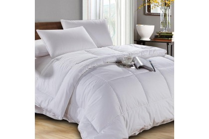 Essina Microfiber White Quilt (Comforter Infill) ( 3 SIZE AVAILABLE QUILT KING / QUEEN / SUPER SINGLE )