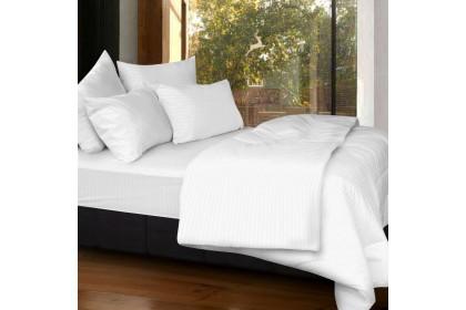 Cozzi Rainbow Microfiber Plush Fitted Bedsheet Cadar Queen / King / Super Single with Comforter ( Plain & Hotel design )