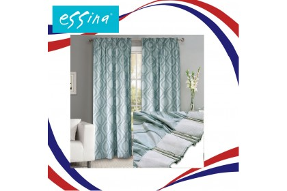 Cozzi Adessa 4 Panel Sliding Door Window French Pleat Curtain ( Fit up to 300cm,W x 210cm,H)
