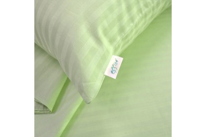 Essina Palette 100% Cotton 680TC Fitted Bedsheet Cadar Hotel Plain set King / Queen with 40cm High Mattress
