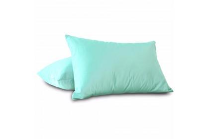 Essina Cotton Soft Pillow Cases / Cover Plain Colour Microfiber ,size 50CM X 72CM - 2 piece (pillow is not included)