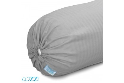 Cozzi Rainbow Bolster Case / Cover Plain Colour Microfiber size 35cm x 105cm - 1 piece  ( pillow is not included)