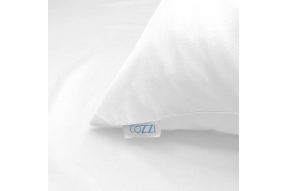 Cozzi Magic White Microfiber Plush Fitted Bedsheet Cadar Queen with Comforter ( Plain design )
