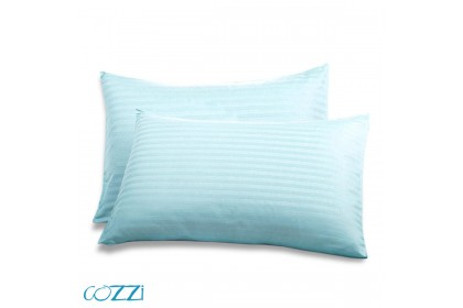 Cozzi Rainbow Pillow Cases / Cover Plain Colour Microfiber size 35cm x 105cm - 2 piece ( pillow is not included)