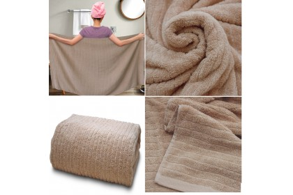 Essina Montana Cotton  Extra Large Bath Towel Adult size 90cm(W) x 180cm(L), 600gsm (1 PIECE )
