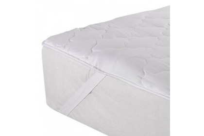 Essina Washable Quilted Ultra Soft Mattress Protector with Elastic Band - Queen size