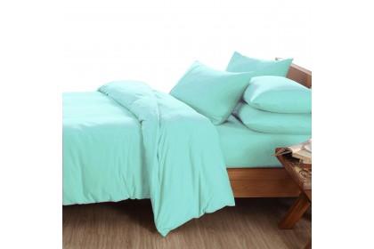Essina Candies Super King 40cm Comforter & Fitted Bed sheet set Plain & Hotel Cadar Super King 100% Cotton 620 thread counts (fit 16 inch High Mattress)
