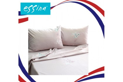 [ MERDEKA SALE] Essina 100% Cotton , 620TC King / Queen Fitted Bed Sheet set  ( Belle Collection )