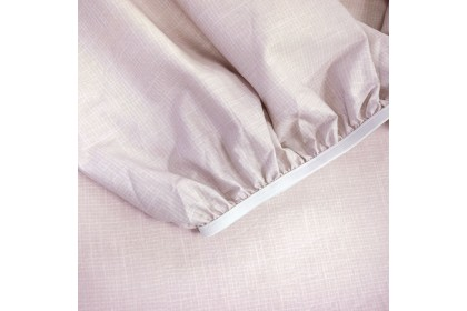 Essina Rosaria 100% Cotton , 620TC Queen Fitted Bed Sheet set 33CM ( Belle Collection )