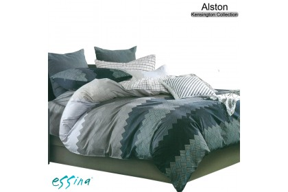 CLEARANCE SALE : Essina 100% cotton 620TC Quilt/Duvet Cover with Pillow Cases (Quilt insert/Bedsheet not included)