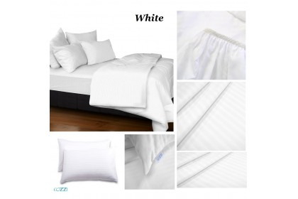 [HIGH MATTRESS] Cozzi 40cm High Mattress Rainbow Microfiber Fitted Bed Sheet set + Pillow case King/ Queen / SuperSingle