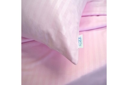 Cozzi Rainbow Quilt Cover & Fitted Bedsheet Plain & Hotel Style Cadar Super Single