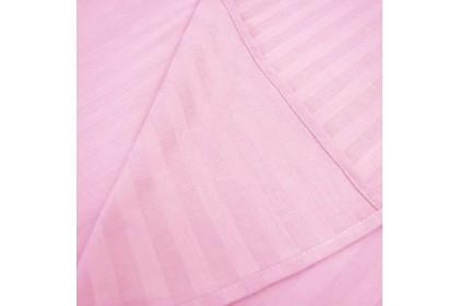 [100% Cotton ]Essina Colour Palette Pink 25cm Fitted Sheet set 680TC Cadar Bedsheet King / Queen / Super Single Plain Hotel