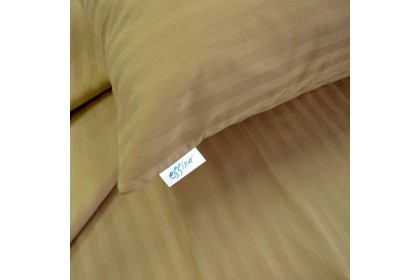 Essina 33CM Super Single Colour Palette Quilt Cover & Fitted Bed sheet set 100% Cotton 680TC Fitted Bedsheet Cadar
