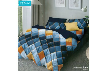 Essina Arcadia 500TC Quilt Cover & Fitted Bed Sheet set Cadar Queen/King/Super Single Modern Style ( 33cm high mattress)