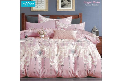 [100% Cotton] Essina Quilt Cover & Fitted Sheet set Modern & Stylish Valencia  620TC Cadar King / Queen / Super Single / Single