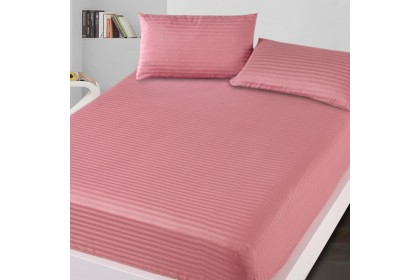 Essina Prismatic Collection Microfiber Plush 500TC Fitted Bed sheet Cadar Plain + Pillow case King/Queen/Super Single/Single
