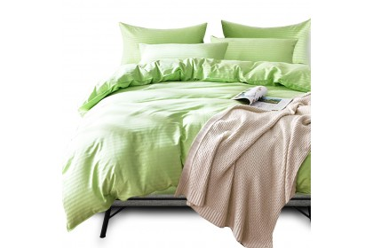 [100% Cotton ]Essina Palette Comforter & Fitted Sheet 680TC Fitted Bedsheet King / Queen / Super Single Plain Hotel