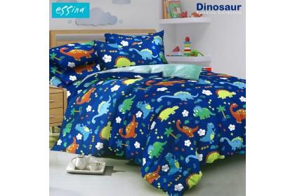 Essina Bambino Quilt Cover & Fitted Bed Sheet set Cadar Queen/ King / Super Single Modern Style  ( 33cm high mattress)