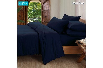 Essina Hotel & Plain set Bedsheet Candies 100% Cotton 620TC Fitted Bed sheet Cadar Available size King / Queen / Super Single / Single )