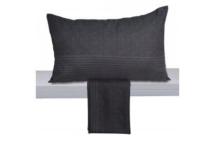 Essina Microfiber Pillow Case 2 PIECE/PACK (PILLOW NOT INCLUDED) ( MARBLE / DOVE / ZURI PILLOW CASE )