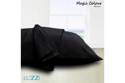 Cozzi Magic Colour Pillow Cases / Cover Plain Colour Microfiber ,size 50cm x 72cm - 2 piece ( pillow is not included)