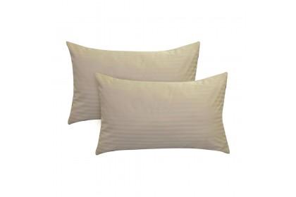 Essina Plain & Hotel Style 100% Cotton Colour Palette 680TC Pillow Cases 2pcs_set ( 6 Colour Available )