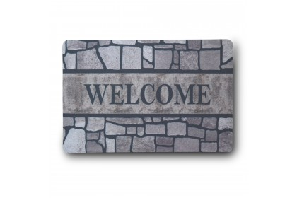 (Ready Stock) Welcome Outdoor Floor mat  ( Floormat size 38cm x 58cm )