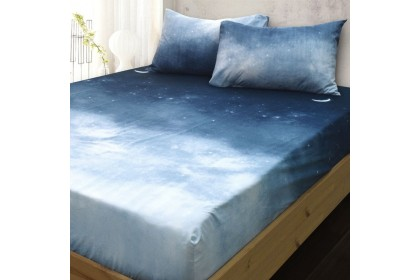 Essina Arcadia 500TC Modern Style Fitted Bed Sheet Cadar King / Queen / Super Single ( 33cm High Mattress)