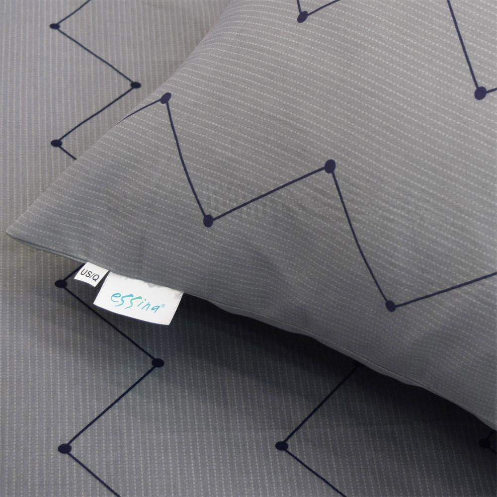 """Essina Kensington 100% Cotton 620TC Fitted Bed Sheet set (Fit up to 13"""" mattress)"""