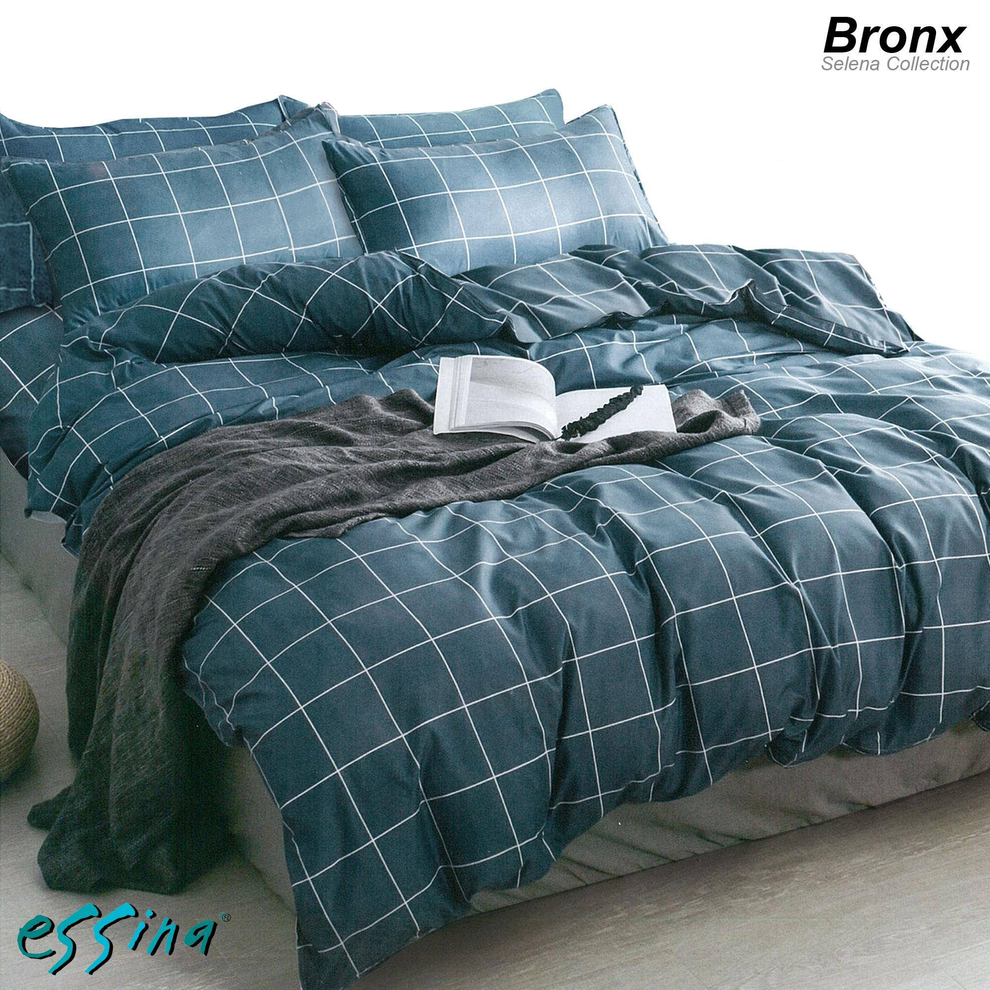 Essina Microfiber Plush Fitted Bed Sheet set (Selena Collection)