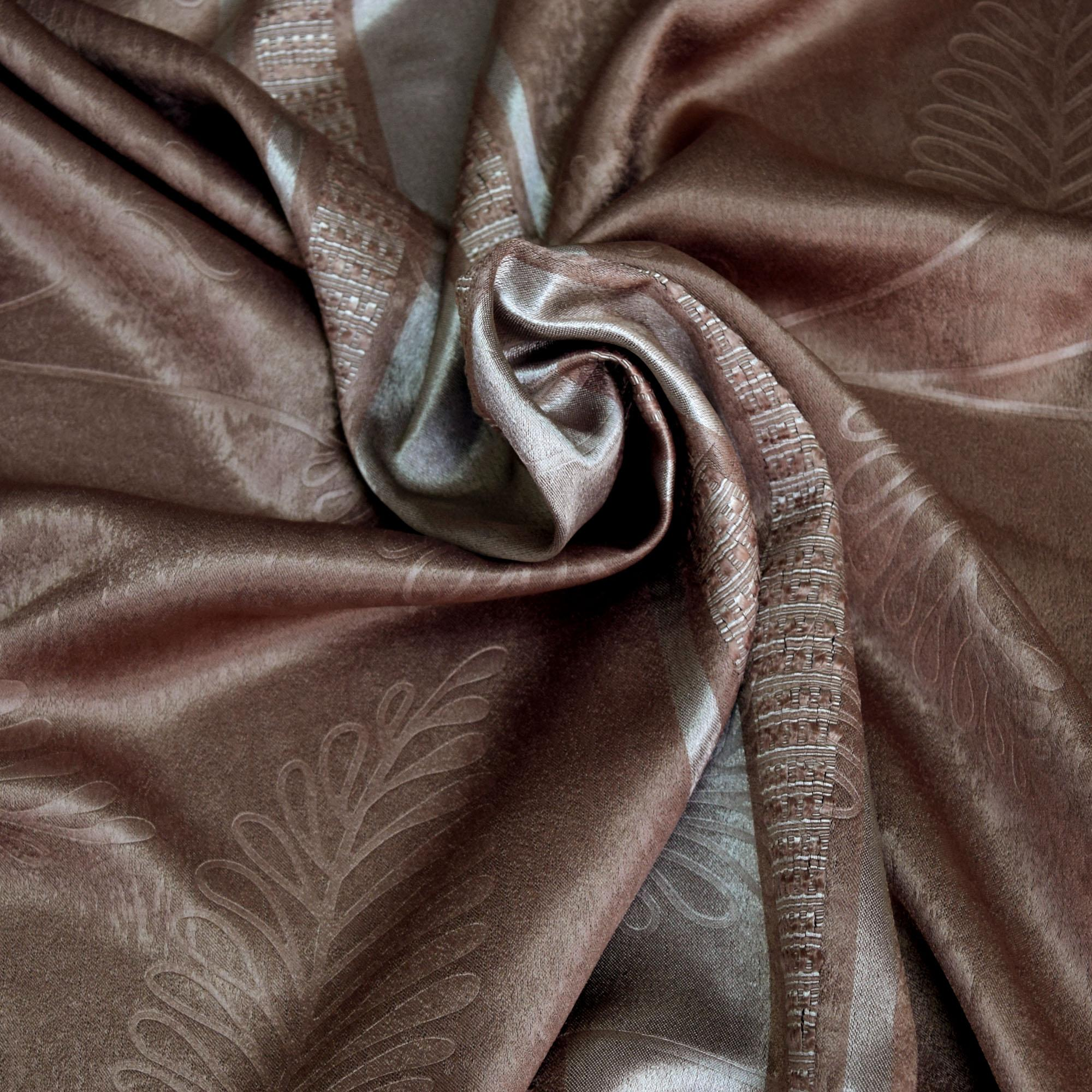 Essina Cortina Premium Blackout French Pleated Curtain 4.5 Sliding Door