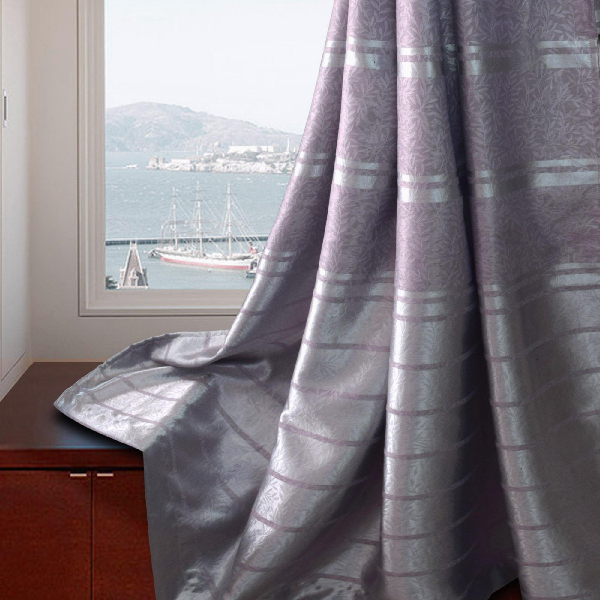 Essina Ariana Premium Blackout French Pleated Curtain 4.5 Sliding Door