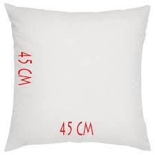 Essina Cushion Insert 45cm x 45cm350gm per piece ( 1 PIECE )