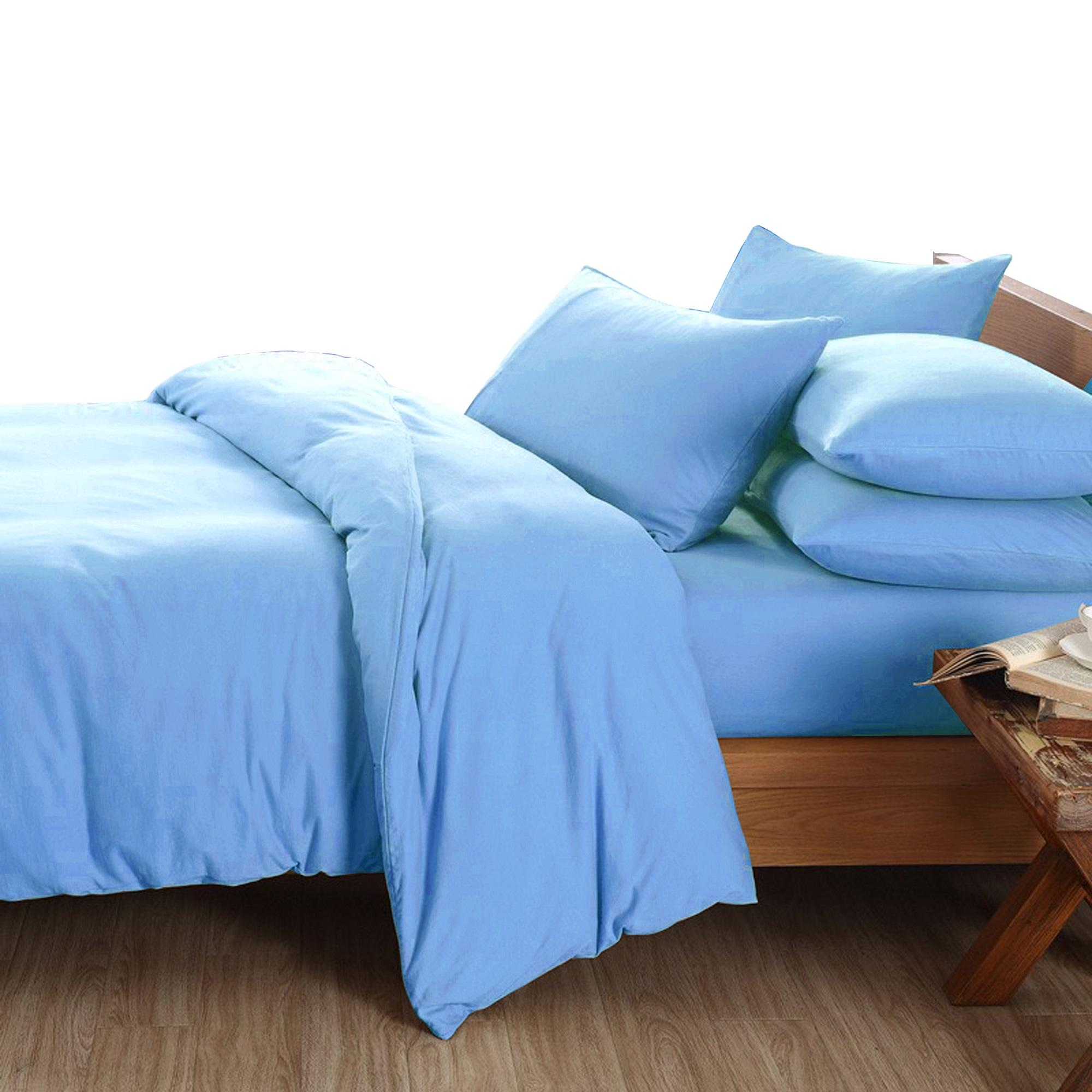 Essina Candies Collection Plain & Hotel Quilt Cover & Fitted Bed sheet set 100% Cotton 620TC Bedsheet Cadar Queen / King / Super Single / Single ( 6 Colour Available )