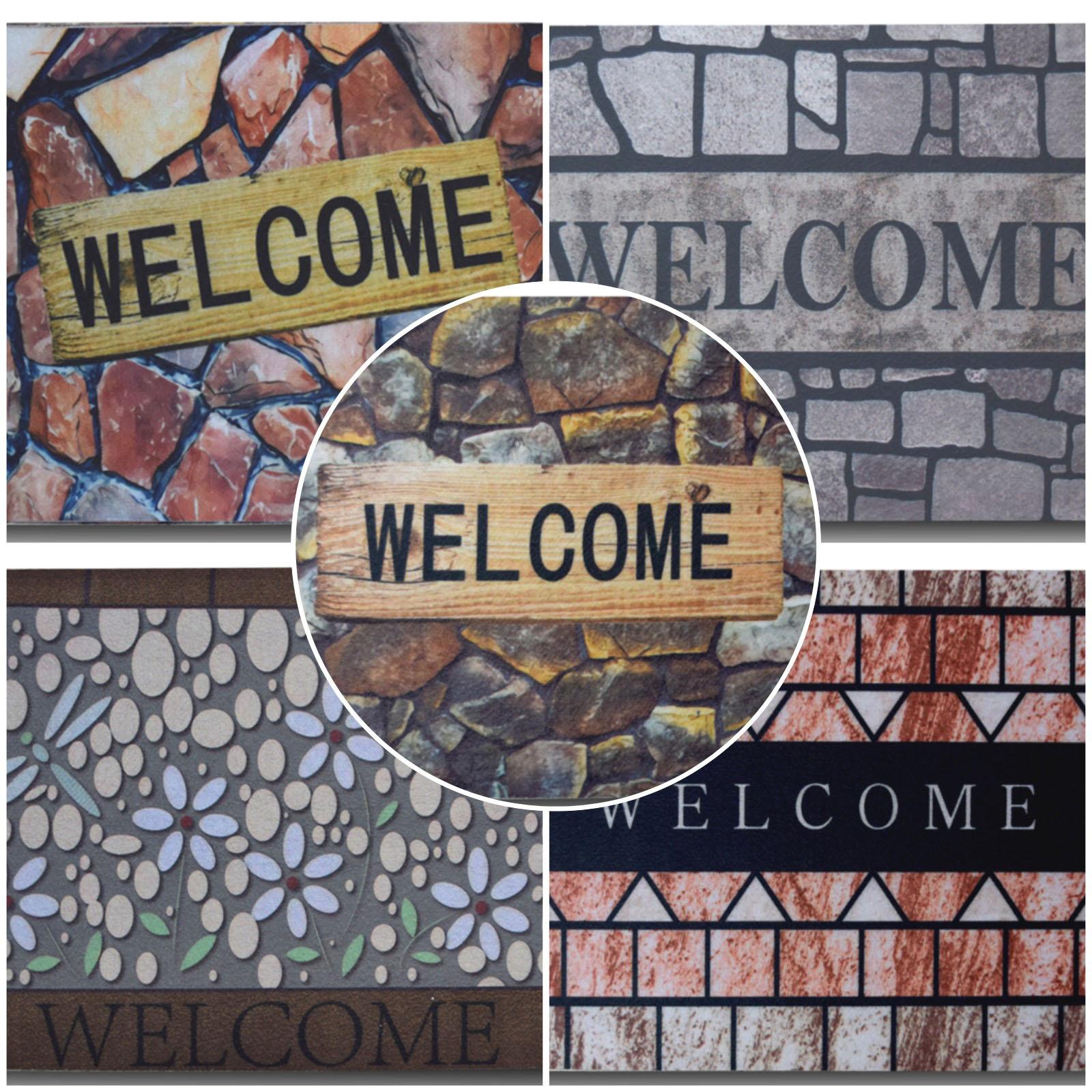(Ready Stock) Welcome Outdoor Floor mat  ( Floormat size 38cm x 58cm )