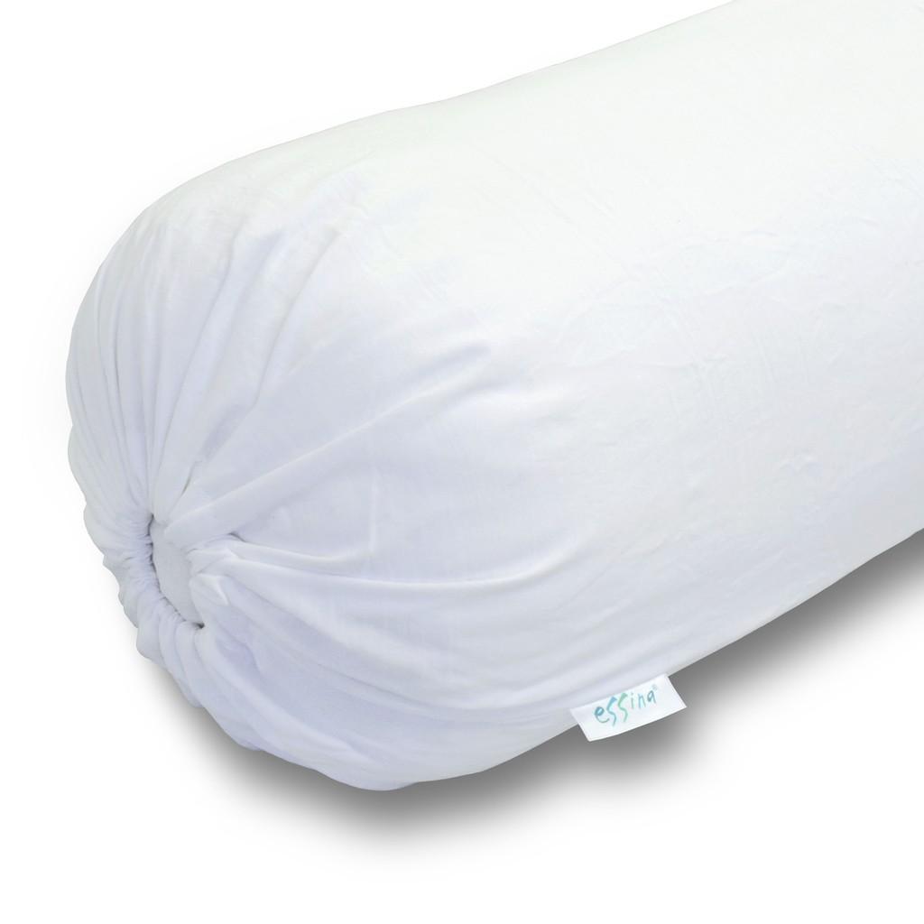 Essina Cotton Soft Bolster Case / Cover Plain Colour Microfiber size 35cm x 105cm - ( pillow is not included)