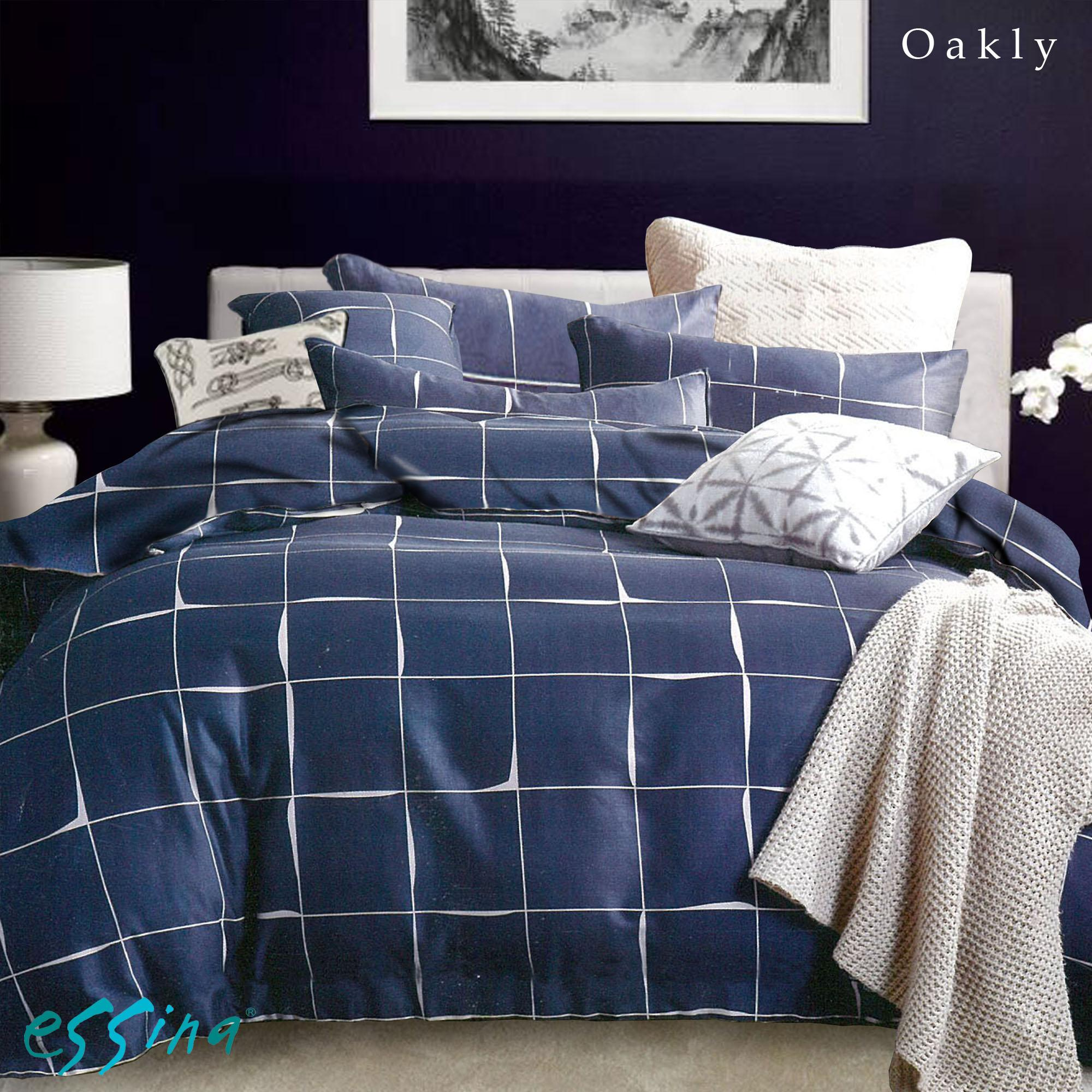 Essina Okley 100% Cotton Rosetta Collection 620TC Fitted Bed sheet set Cadar SUPER SINGLE